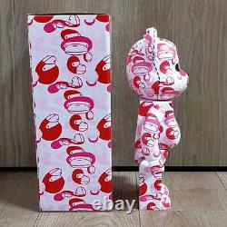 A BATHING APE × BE @ R BRICK 400% Ape (Pink) Bearbrick 400% With box From JAPAN