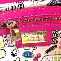 Auth FENDI Zucca Baguette Shoulder Bag Leather Pink From Japan Afar Vintage