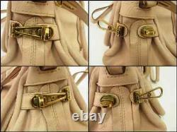 Auth WP12 Chloe Paraty 2Way bag Handbag with dust bagshoulder strap from Japan