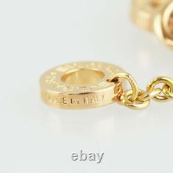 BVLGARI Bulgari Bulgari Roman Sorbet 18K Pink Gold cleaned Necklace from Japan