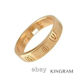 CARTIER 18K Pink Gold 750 Happy Birthday 52 Cleaned ring from Japan