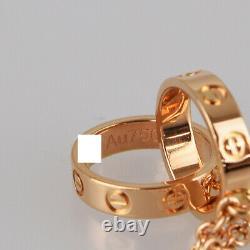 CARTIER Baby love 18K Pink Gold(750) Bracelet from Japan