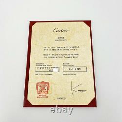 CARTIER Diaman Leger de Cartier SM 18K Pink Gold (750) Diamond 1P from Japan