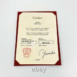CARTIER Diaman Leger de Cartier XS 18K Pink Gold 750 Diamond earring from Japan