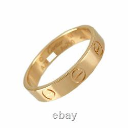 CARTIER Mini love 18K Pink Gold(750) No. 51 ring from Japan