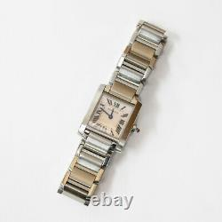 CARTIER Watches W51008Q3 pink Stainless Steel from japan