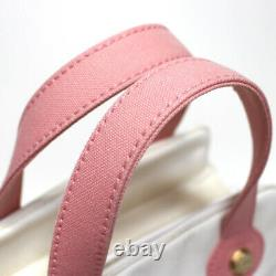 CHANEL Rare! Marshmallow Tote Mini Pink #50421 free shipping from Japan