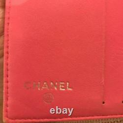 Chanel purse wallet CC logos m99817452905 pink Pre-owned From Japan