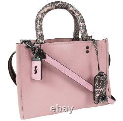 Coach ROUGE 25 59235 Pink x black From Japan
