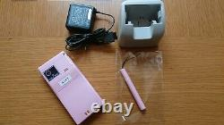 DoCoMo Fujitsu F06D Happy Pink Mobile Phone Unlocked Used from Japan #11