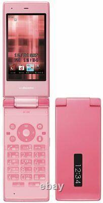 DoCoMo Sharp SH-03E Pink Flip Phone Mobile Phone Unlocked Used from Japan