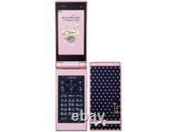 Docomo Fujitsu F-06D Style Series Pink Unlocked Flip Phone Good from Japan EMS