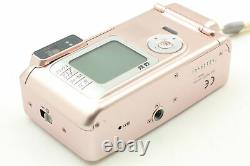 Exc+5 Fujifilm Natura S 35mm Point & Shoot Film Camera Rose Pink From JAPAN