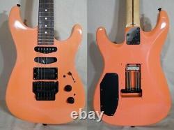 Fender STRAT SHM-75 Electric GuitarUSA Design pink 3.50kg from japan Excellent