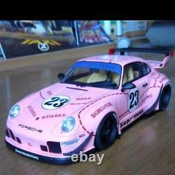 GT SPIRTS 1/18 Porsche RWB993 Pink Car Model Limited edition Rare From JAPAN F/S