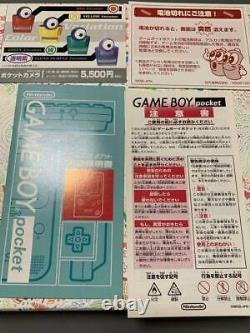 Gameboy Pocket Pink Console System Japan COLLECTORS ITEM New Japanese from Japan