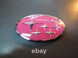 Genuine La Unsport Impreza GC8 / GF8 type custom pink front ornament From Japan