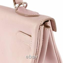 HERMES Kelly 32 cleaned Rose drage Vaux Swift Women's handbag from Japan