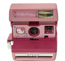 Hello Kitty Polaroid Instant Camera Pink from Japan Sanrio Opened F/S Japan