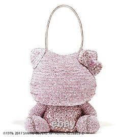Hello Kitty x ANTEPRIMA Pink Shoulder Bag Silver pink Wire bag From JAPAN F/S