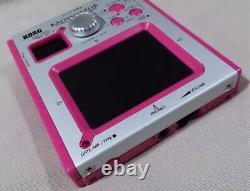 KORG KAOSSILATOR dynamic phaser synthesizer KO-1 Near Mint From Japan Pink
