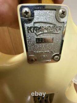 Kramer Jk1000 Reverse Head Floyd Rose Junk FROM JAPAN
