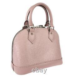 LOUIS VUITTON Epi Alma BB 2WAY Cross Body handbag M41270 handbag from Japan
