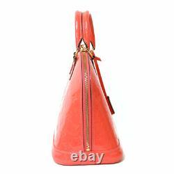 LOUIS VUITTON Handbag M90976 pink Hot pink Monogram Vernis Alma from japan