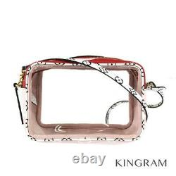 LOUIS VUITTON Monogram Giant Beach Pouch M67601 Rouge Cross Body Bag from Japan