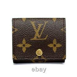 Louis Vuitton Etui Ecouteur Monogram Trifold Earphone Case #51764 from Japan
