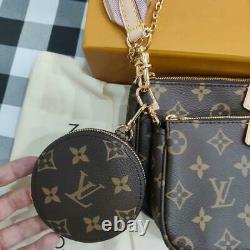 Louis Vuitton Multi Pochette Accessoires Crossbody Bags M44840 from Japan F/S