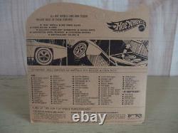 MATTEL REDLINE Hot Wheels Rare Power Pad HOT PINK 1970 Vintage from Japan