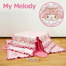 My Melody Japanese Kotatsu Futon Mat Set 68.9 x 68.9 Inch Sanrio From Japan EMS