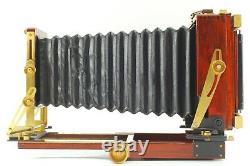 NEAR MINT Wista Field 45DX Rose Wood + Fujinon W 150mm f/5.6 From Japan 1436