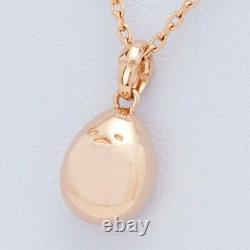 NEW Gudetama Lazy Egg Sanrio Necklace pendant Silver pink gold from Japan F/S