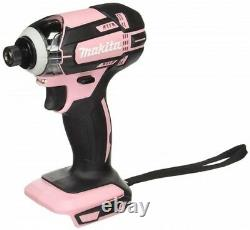 NEW MAKITA TD149DZP Rechargeable impact driver 18V pink body only from JAPAN