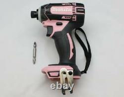 NEW Makita rechargeable impact driver 18V pink body only TD149DZP From JAPAN FS