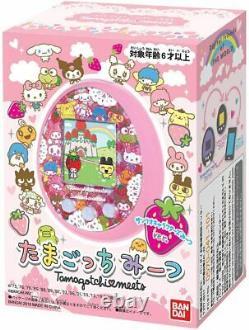 NEW! Tamagotchi meets Sanrio Characters Meets ver. Pink BANDAI from Japan