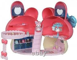 New! My Melody Koeda Chan Dress Up Pretty Pink House Toy Sanrio, f/s from Japan