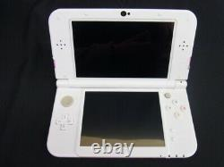 Nintendo 3DS LL console Pink x White Console only From Japan