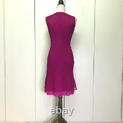 PLEATS PLEASE ISSEI MIYAKE Gorgeous Impressive Pink One-Piece from Japan #808