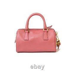 PRADA Shoulder Bag BL0841 pink Tamaris children small Safiano from japan used