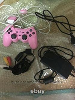 PlayStation 2 Console Pink Limited Color SCPH-77000PK Sony From Japan Used Rare