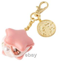 Q-pot x Sailor Moon Starry Sky Macaron Bag Charm Pink New From Japan F/S