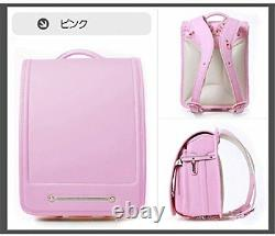Qwawa Japanese school bag Randoseru color Pink cute Backpacks NEW From Japan
