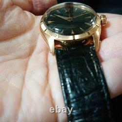 ROLEX Ref. 6085 Pink gold From JAPAN