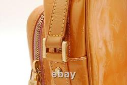 Rank BAuth LOUIS VUITTON Vernis Wooster Shoulder Bag M91037 From Japan 049