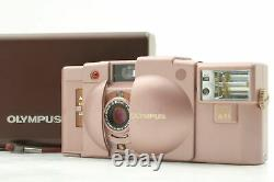 Rare! Exc+5 in Box Olympus XA2 Pink + A11 Point & Shoot Film Camera From JAPAN