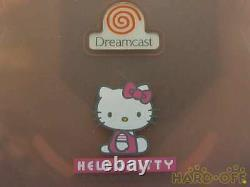 SEGA Dreamcast HELLO KITTY PINK Game Console HKT-3000 Working from Japan FedEx