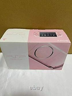 SONY PSP Blossom Pink PSP-3000ZP Playstation Portable Console From Japan C